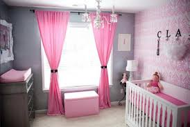 Light Pink Blackout Curtains Light Pink Curtains For Nursery Thenurseries