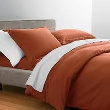 Jersey Cotton Comforter 4 Piece Isabel Stripe Cotton Jersey Knit Duvet Cover Set Jersey