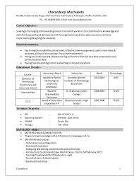 Sap Basis Resume 5 Years Experience Sap Basis Resume Format Sap Basis Administration Cover Letter