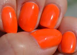 notd wild u0026mild 004 more more more neon orange nails orange