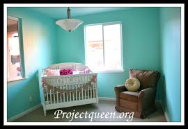 valspar aqua glow in the baby nursery