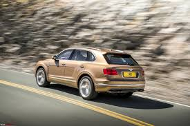 bentley sport 2016 bentley bentayga india launch scheduled for april 22 2016 team bhp