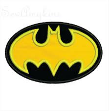 batman mask applique halloween design now in 2 sizes for kids