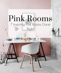 pink rooms the busy blog