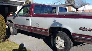 1995 chevy k1500 project truck 4 4 chevrolet silverado 350 tbi