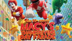 2015 thanksgiving day tv schedule macy s thanksgiving day parade