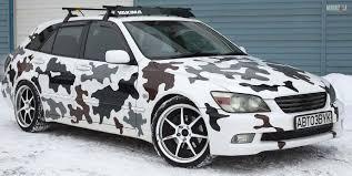 lexus is300 sportcross russian sportcross snow camo w custom stereo lexus is forum