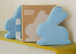 bunny bookends february is the new year the rabbit year coolil