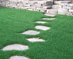 create stepping stone paths throughout beauty landscape stepping