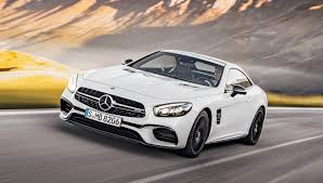 mercedes sport the 2016 mercedes benz sl sports a spectacular new front end