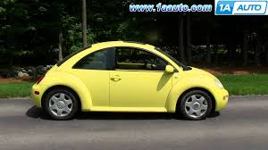 2000 volkswagen beetle trunk how to install replace rear trunk hatch support pistons 98 10 vw