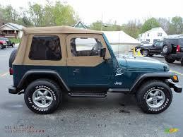 1997 Wrangler Sport 1997 Jeep Wrangler Sport 4x4 In Emerald Green Pearl Photo 16