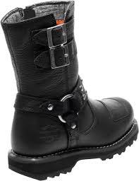 steel toe motorcycle boots harley davidson women u0027s marmora 7 5 inch black motorcycle boots