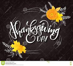 thanksgiving phrase vector thanksgiving day greeting lettering phrase thanksgiving