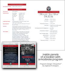 making the most of your program booklet digileach designs