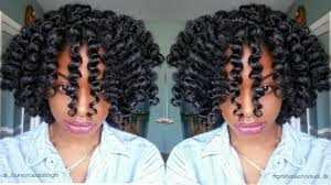 flexi rod stretch long 4b c hair my most defined flexi rod set heatless curls journey to waist