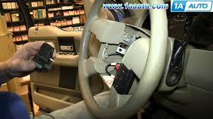 how to install replace steering wheel cruise control switches 2004
