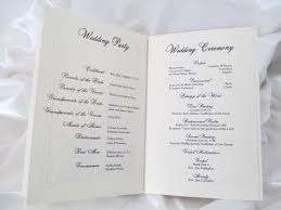 booklet wedding programs booklet style wedding program basilica and holy spirit chapel