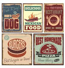 affiche cuisine retro affiche cuisine retro alimentaire de chocolat tirage rtro vintage