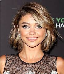 above shoulder hair cuts short bob above the shoulder hair cut dark brown with light blonde