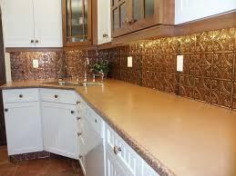 Tin Tiles For Backsplash In Kitchen Backsplash Ideas Amusing Copper Tin Backsplash Tin Backsplash