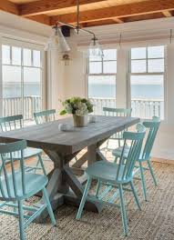 beach cottage magazine beach house cottage style furniture trestle tables in the dining room cottage style minimal and