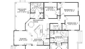 4 bedroom open floor plans 4 bedroom open house plans luxamcc org