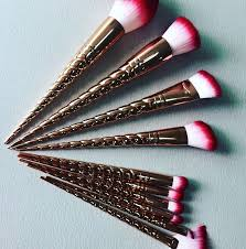 rose gold unicorn makeup brushes are coming soon allure