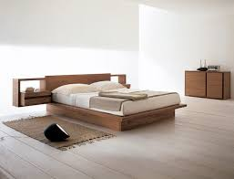 bed design with side table feel your ultimate sleeping with these tens of cozy simple wood