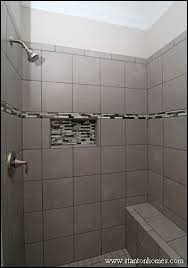 Shower Designs With Bench 12 Showers With A Built In Bench Nc New Home Builder