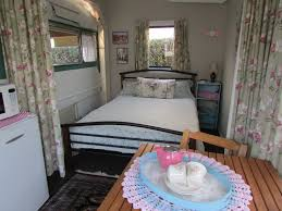 Second Hand Awnings For Caravans Awning Interior Includes A Double Bed Vintage Retro Caravan