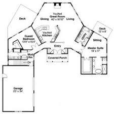 u shaped ranch house plans plan 77135ld c shaped floor plan courtyard house plans