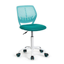 com greenforest office task desk chair adjule mid back home children study chair turquoise kitchen dining