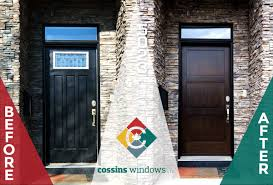Calgary Exterior Doors by Replacement Windows And Doors In Calgary Cossins Windows And Door