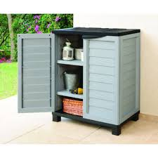 Suncast Shed Shelves by Outdoor Storage Cabinets With Shelves Shelves Ideas