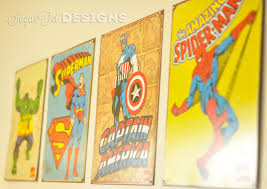 sugartotdesigns superhero room updated
