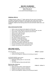 Resume Sample Electrician by Resume For Electrician Assistant Best 25 Resume Template Free