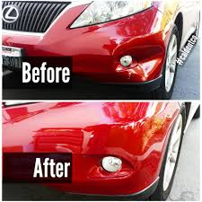 lexus service tustin toyota rav4 repaired without repainting by california dent co