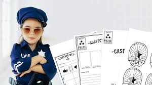 teach kids about criminal justice with a pretend play pack