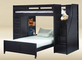 Bunk Bed With Stairs And Desk Bedroom Outstanding Twin Over Full Bunk Bed With Stairs For
