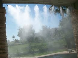 Patio Misters High Pressure Misting Systems Rfmc The Remodeling Specialist
