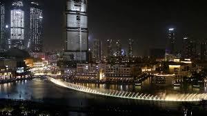 Armani Dubai Dubai Fountain From Suite Balcony Armani Hotel Full Hd Mvi 6408