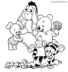printable 45 baby disney coloring pages 2884 baby pooh bear