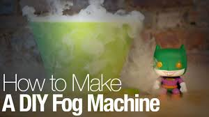Halloween Fog Machine How To Make A Diy Fog Machine This Halloween Youtube