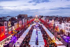 winter wonders and market 2017 city of brussels