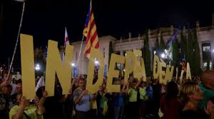 mass rally ahead of catalonia independence referendum youtube