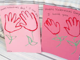 valentines day crafts for toddlers and preschoolers handprint