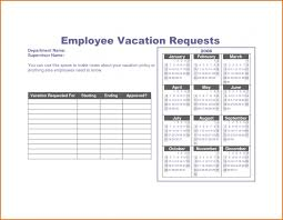Exle Letter Request Annual Leave employment employee vacation request form letter for annual leave