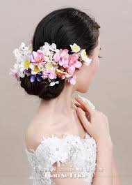 flower decoration for hair girl hair artificial flower hair ornaments hairpins pictures