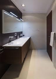 bathroom glass door wall mount toilet seat tile flooring